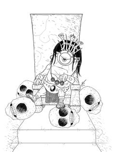 Minion King Conan