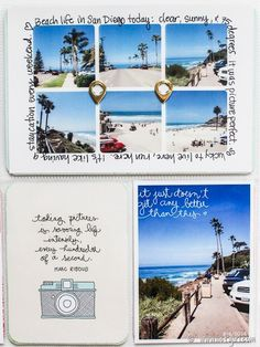 **Love the mini pics with rounded corners! 2014 Project Life | May @ listgirl.com
