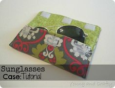 Sunglasses Case Tutorial  I won't open this because my pc says suspicious link but I'm pretty sure I can figure this out so I just want to pin the picture ~ Teresa