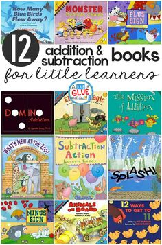 Math practice is so much more fun to teach when it's through fun stories. I always love how excited students are to show their math skills and practice while we read. Here's a list of 12 fun addition and subtraction books for little learners you'll want to add to your classroom library today.