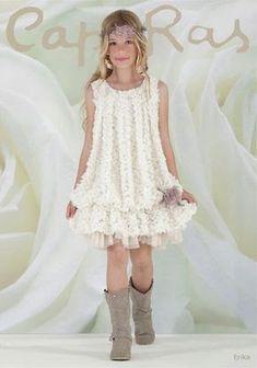 Resultado de imagem para vestido ceremonia niña blanco