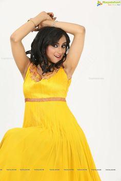 MADIRAKSHI SHOWING DARK ARMPITS IN YELLOW DRESS Shave Armpits, Dark Armpits, Armpit Hair Women, Madhuri Dixit, Yellow Dress, Desi, High Neck Dress, Celebrities, Model