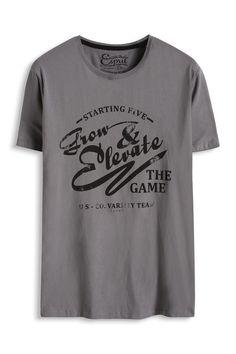 Esprit : T-shirt jersey imprimé, 100 % coton à acheter sur la Boutique en ligne