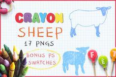 Download Crayon Sheep @creativework247