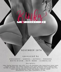 Kinky Event November - Early Access for WANT-Members!