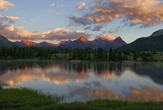 San Juan Mountains, CO by William Ervin. I was headed toward the San Juan Mountains of Colorado, driving along the Million Dollar Highway that connected Silverton and Durango. Before me, Molas lake stretched out. It was facing northwest and perfect for a sunset shot.