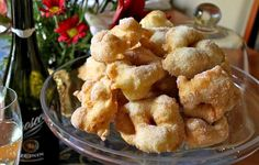 Every year, my mother makes these frittelle (a type of Italian doughnut), for Christmas Eve and we stuff ourselves silly because we just can't help it...they're so good! Just like Cioffe or Frappe,...
