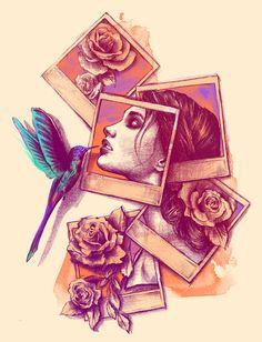 The is Great <3   #polaroid #art