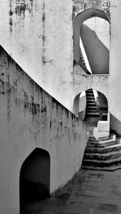 Jantar Mantar Observatory - UNESCO World Heritage Attraction in Jaipur, India (Jan, 2013) - Photo taken by BradJill
