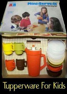 Tupperware for kids!