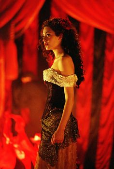 Emmy Rossum as Christine in Phantom of the Opera - Point of No Return costume. I actually made this for a friend a few years ago.