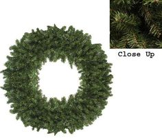 Asstd National Brand 5 Ft. Unlit Commercial Size Canadian Pine Artificial Christmas Wreath