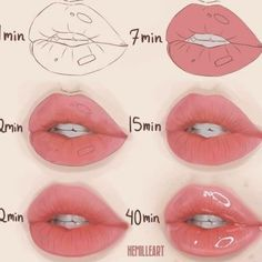 how to draw simple digital art how to draw easy, digital art oil for chapped lips lip volumizer lipsense lips drawing poses drawing inspo Sky Rye design - creative ideas for life - Cartoon Videos Kids For 2019 Digital Art Tutorial, Digital Painting Tutorials, Art Tutorials, Digital Paintings, Eye Drawing Tutorials, Art Drawings Sketches, Easy Drawings, Zentangle Drawings, Lip Tutorial
