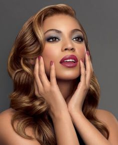 This beautiful look from Beyonce can be achieved with Princess Virgin Hair's Brazilian Body Wave texture and dyed golden blonde. www.PrincessVIrginHair.com