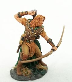 Male Ranger with Bow - Visions in Fantasy - Miniature Lines