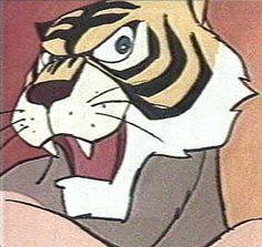 L'uomo tigre che cerca di sopraffare il suo nemico con la tecnica dello sguardo sensuale