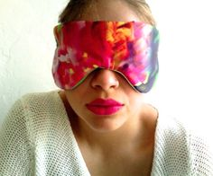 Flower Fresh Eye Shade.  They're pretty, comfy and great for blocking out blue light from electronics that you can't turn off, especially in a hotel room.