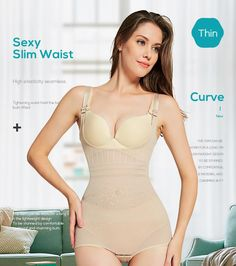 a576d63af8 Slimming Underwear Bodysuit Body Shaper Butt Lifter Slim Body Shapewear  Underwear For Women