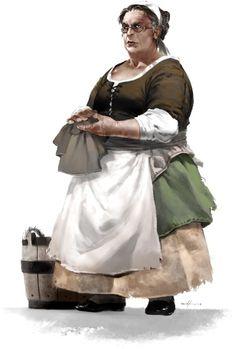 Madame Eglantine http://paizo.com/image/content/PathfinderTales/PZO8500-Eglantine.jpg
