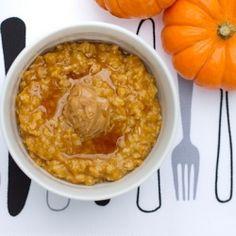 Pumpkin Oatmeal.