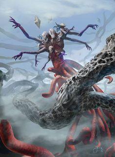 MTG-Battle For Zendikar- Endless One by jason-felix on DeviantArt