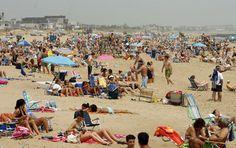 Crowded Jersey Beach