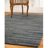 Found it at Wayfair - Montero Hand-Loomed Blue/Gray Area Rug