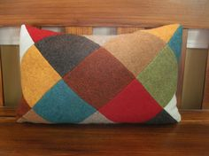 Felted Wool Pillow