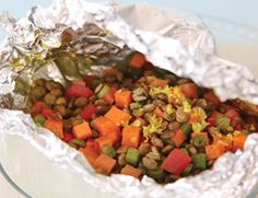 Spice Market Sweet Potato and Lentil Packets