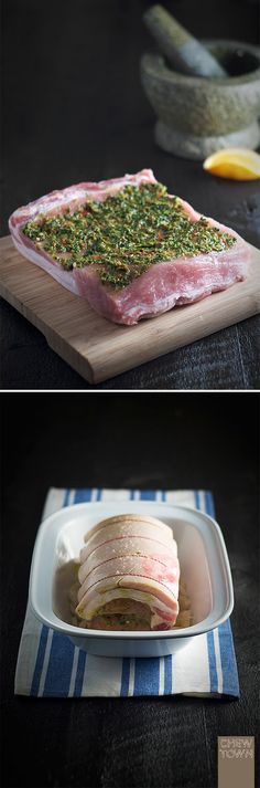 Chew Town: Rolled Pork Loin with Orange and Fennel {recipe}