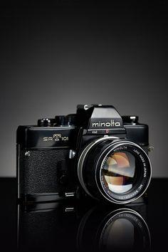 https://flic.kr/p/pEqsFx   Minolta SR-T 101   Test Image - started working on a camera project _ Minolta SR-T 101 Minolta MC ROKKOR - PF 58mm f/1.4 _ Camera Portrait Project