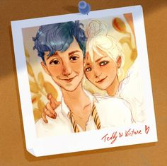 Harry Potter - Teddy Lupin x Victoire Weasley - Tedoire