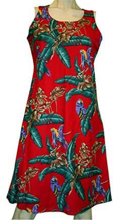 da92324499 Jungle Bird Dress Womens Hawaiian Dress Aloha Dress Hawaiian Clothing --  Read more reviews of the product by visiting the link on the image.