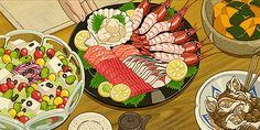 Anime Food When Marnie was There (2015)