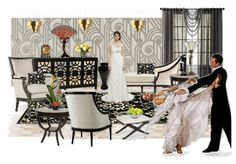 The Great Gatsby~The Party~By~Michele Rice by michelerice | Olioboard