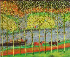 Site internet L'évolution du paysage en Bretagne Site Internet, Painting, Painters, Painted Canvas, Brittany, Landscapes, Painting Art, Paintings, Drawings