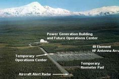 At a U.S. government research project in Alaska. The High-Frequency Active Auroral Research Program, or HAARP, is a station which combines hundreds of radio transmitters to heat up parts of the atmosphere to a staggering 50,000 degrees. Why? Officially, the government says the research may help better military communications. But critics charge the government is trying to manipulate and weaponize the weather.