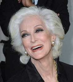 Carmen Dell'Orefice , arguably the most famous old supermodel, is 81.