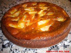 RECETAS DEL SUR: Bizcocho de manzana y canela