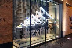 Adidas Originals ZX FLux windows by Studio XAG, Berlin – Germany - Retail Design Blog» visual merchandising