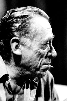 Charles Bukowski (1920-1994) - American writer. Photo Michael Montfort