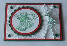 Stempeltechnik, Spellbinders, Viva Decor, Weihnachten
