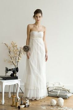 wedding dress from Elizabeth Dye 2010 Spring Collection