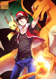 Trainer Red by pluehunter.deviantart.com on @deviantART