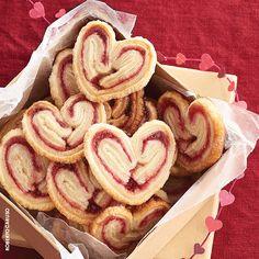 Raspberry Sweetheart Cookies