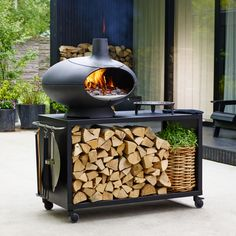 Morso Forno Cast Iron Outdoor Wood Fired Oven