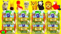 Jungle In My Pocket Learn Animals Jungle Pet Carrier Series 2