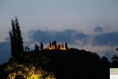 Vista notturna della Santissima, giugno 2015 - http://www.gussagonews.it/vista-notturna-della-santissima-giugno-2015/