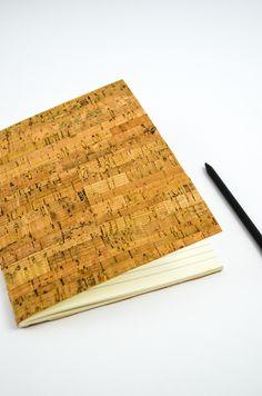 DIY Notizheft aus Kork