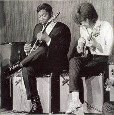BB King and Eric Clapton